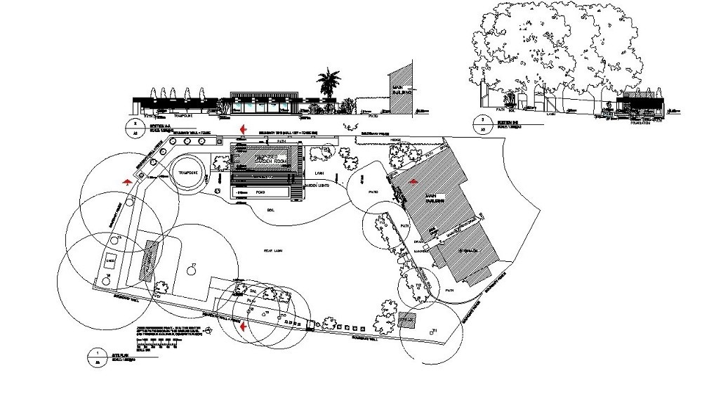 Planning application garden studios UK