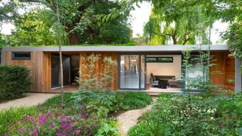 Bespoke garden office and storage in Merton