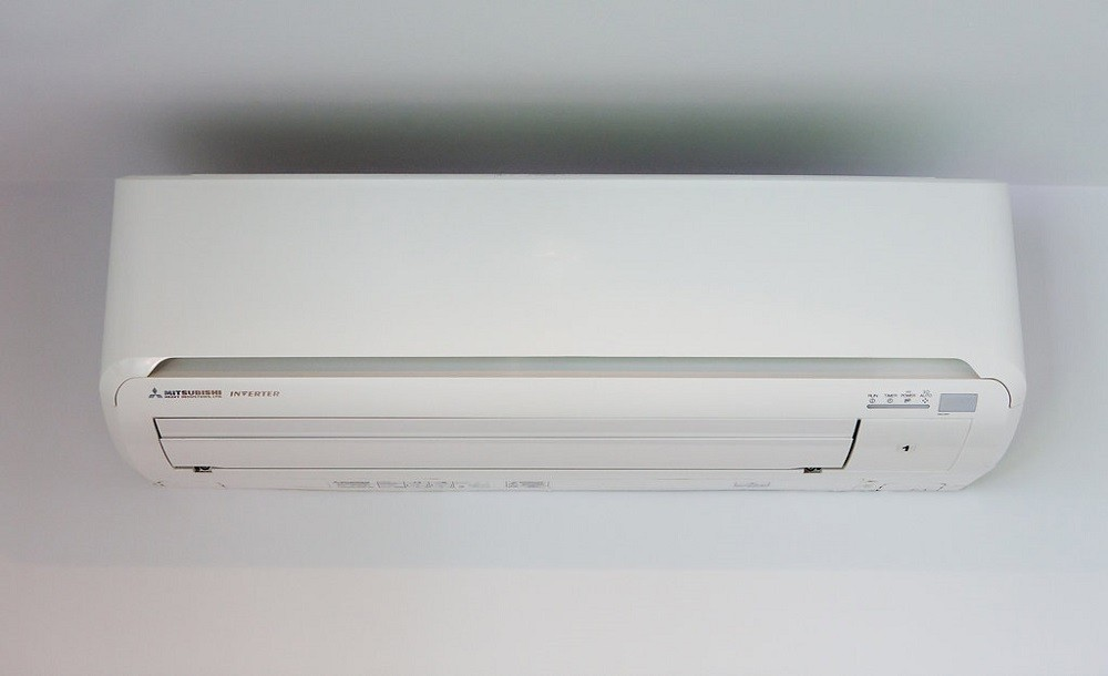 Climate control unit for garden rooms