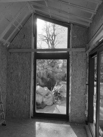 Bespoke garden artist studio