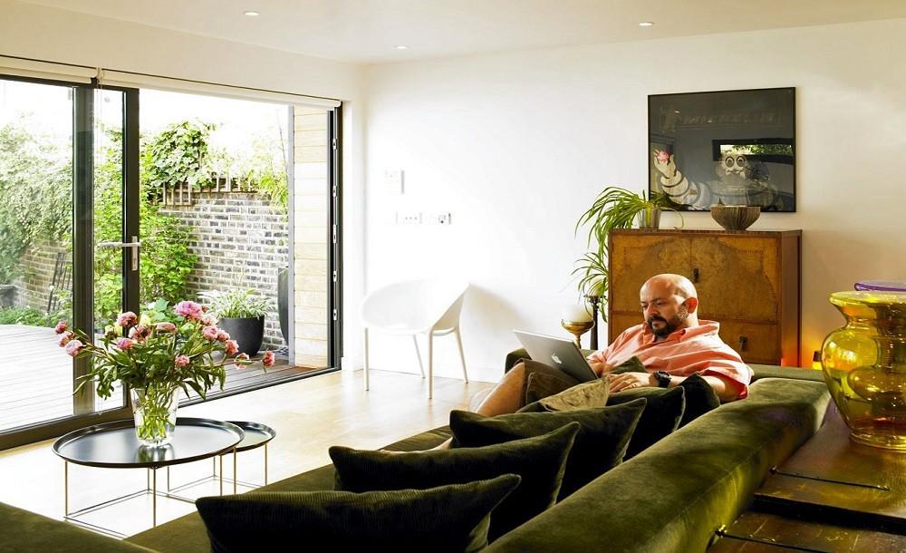 Garden room lounge interiors