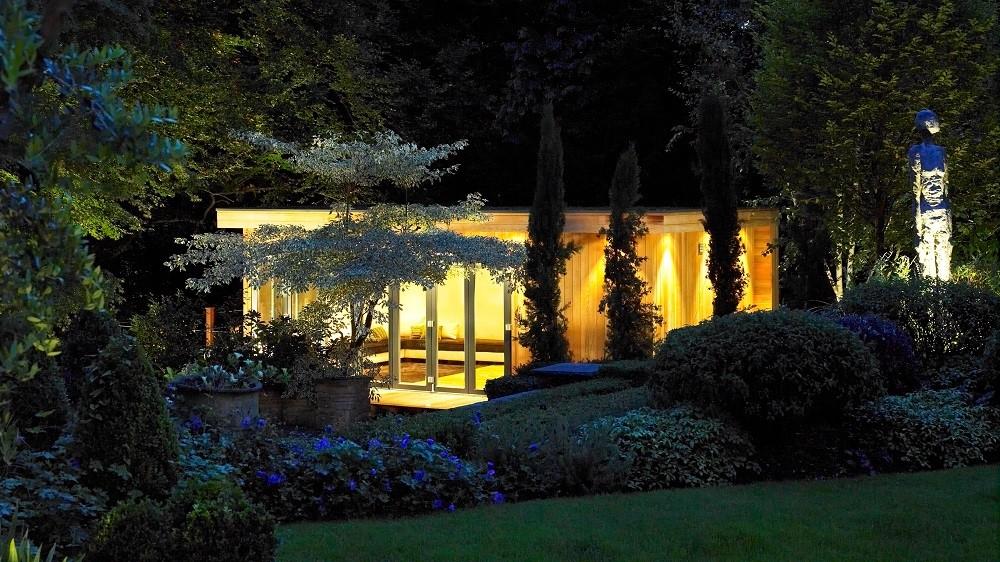 Landscaped garden studio in Seer Green