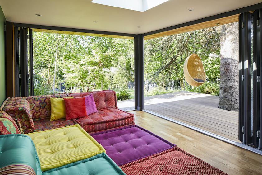 Leisure family garden room