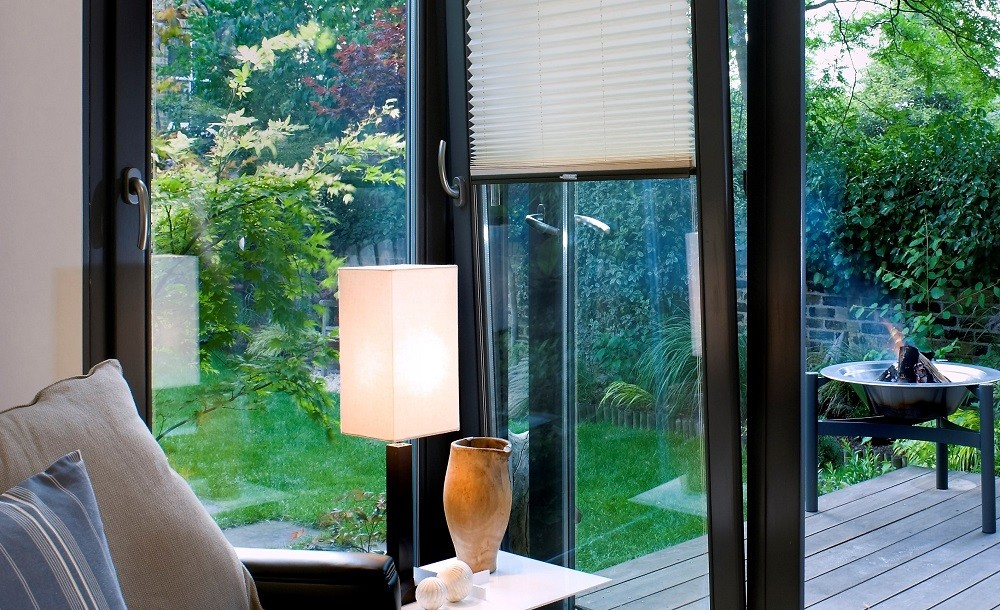 Solo office garden room interiors and tilt and turn windows