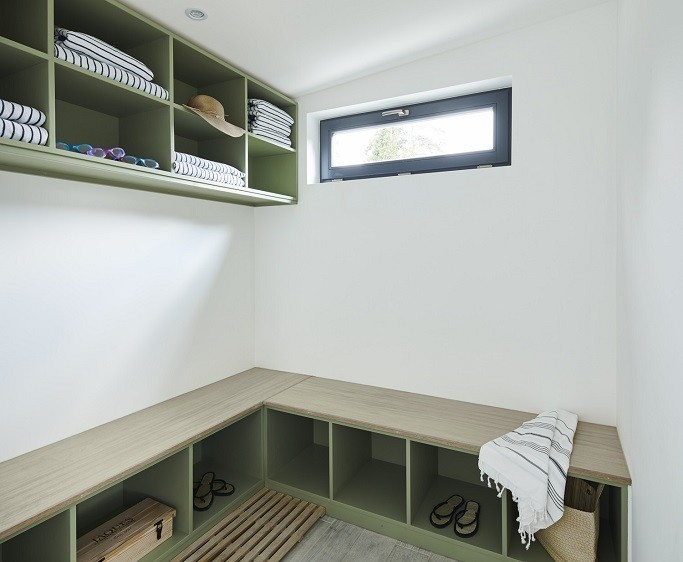 Poolside room with changing facilities