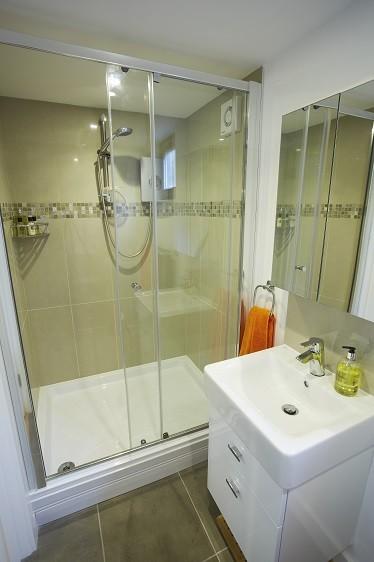 Shower room in a garden studio from Rooms Outdoor