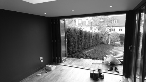 Bespoke garden room in Highgate