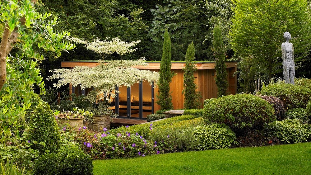 Landscaped garden gym in Seer Green