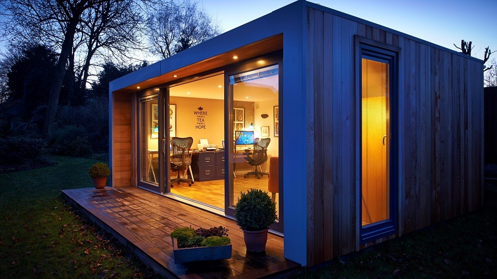 Garden office design by Rooms Outdoor in Colchester