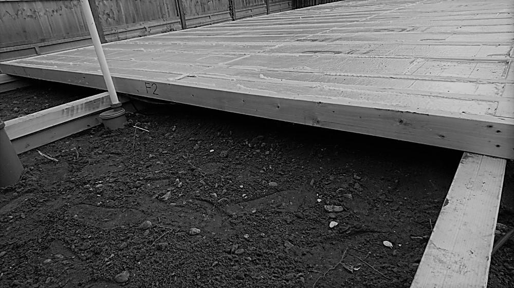 Floor construction for a garden studio by Rooms Outdoor