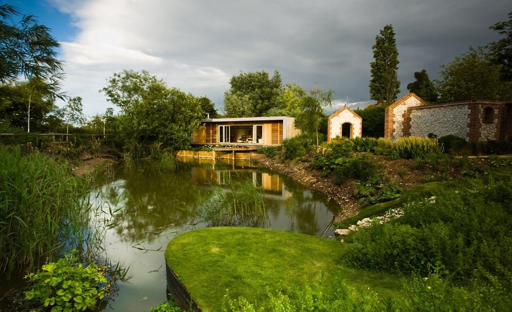 Garden annex in Norfolk