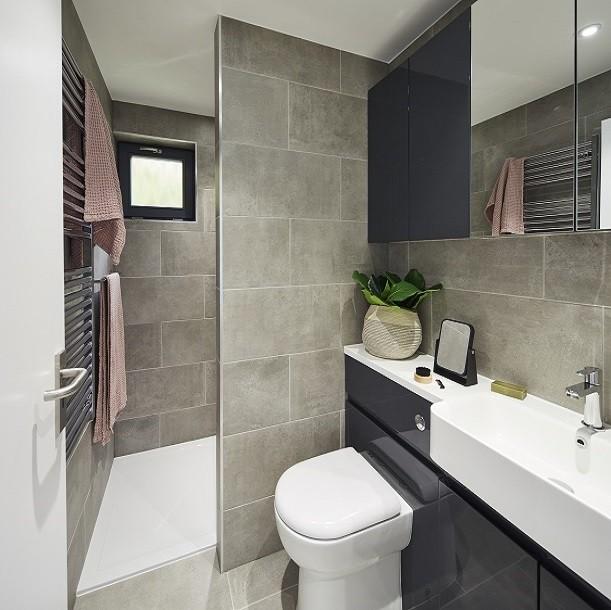 Garden annexe bathroom