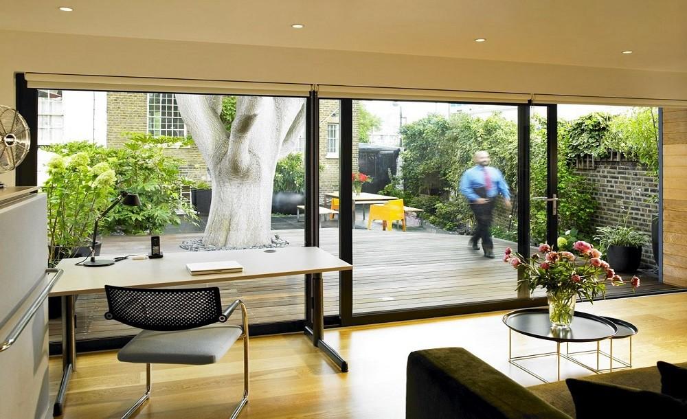 Garden room office Brixton