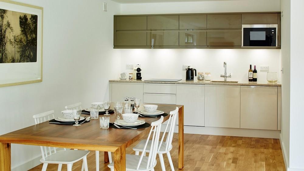 Bespoke garden annexe kitchen