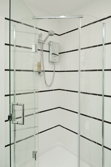 Electric shower in a holiday home by Rooms Outdoor