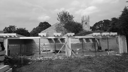 garden garage SIP panels