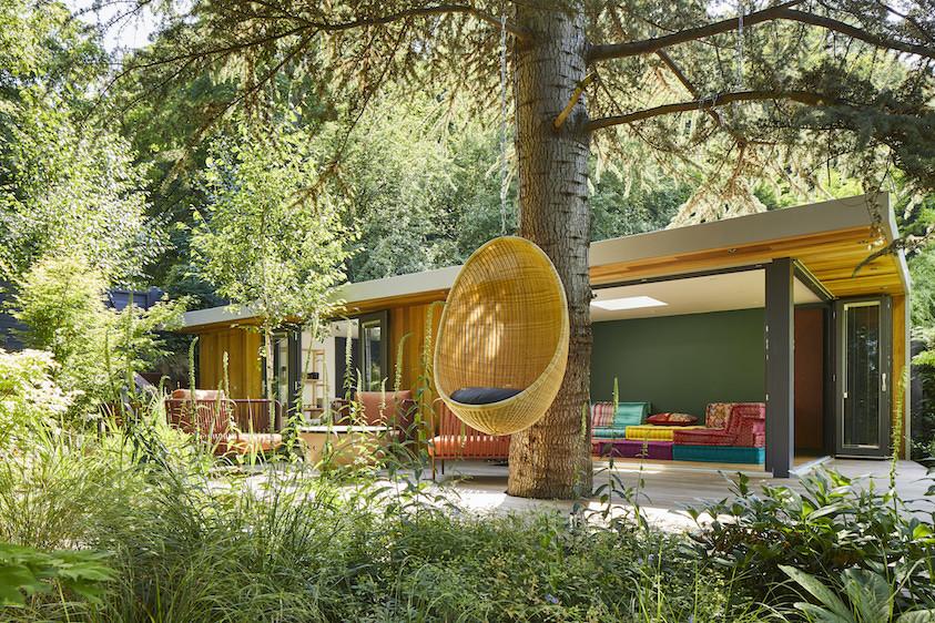 Bespoke garden ceramic studio and outdoor leisure room
