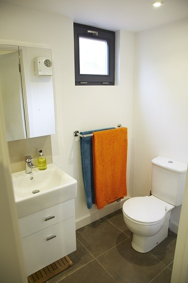 Toilet for a garden studio from Rooms Outdoor in London