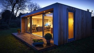 A garden studio for a Photographer in Colchester