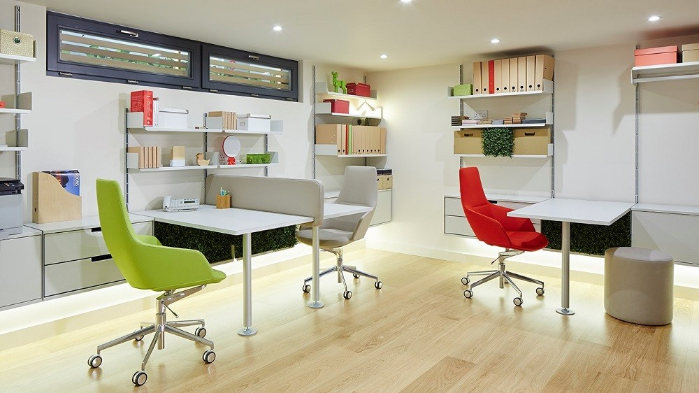 Garden office layout by Rooms Outdoor