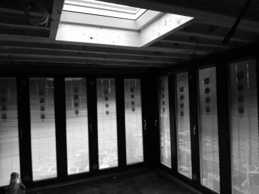 Folding door bespoke garden room design