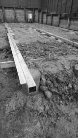 Garden room foundations