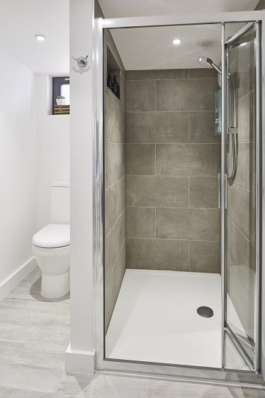 Garden annexe shower room