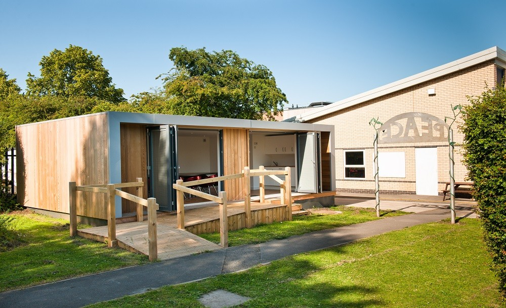 Eco classroom from Rooms Outdoor UK